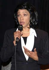 Condi Rice impersonator by Maestro Productions