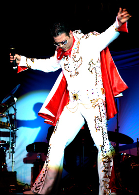 Elvis impersonator by Maestro Productions