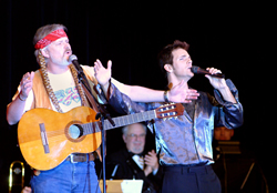 Willie Nelson and Julio Iglesias Impersonators